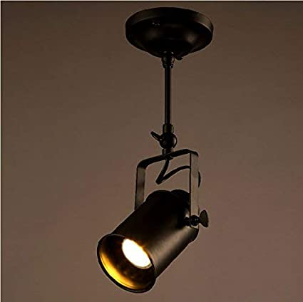 Amazon.com: Mengzhu-Michelle 1 Head Spotslight Industrial Vintage Retro Adjustable Ceiling Light Pendant Light for Living Room Bedroom Dinning Rooms Coffee ...