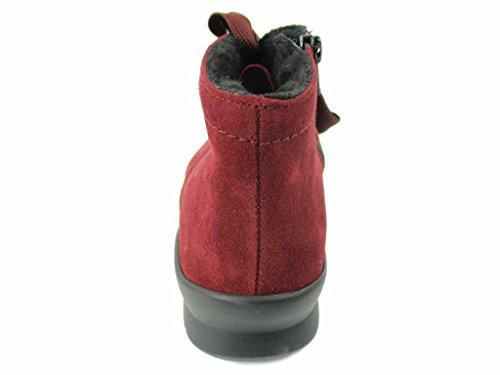 Semler Xenia 062 Femme Chianti Bottines Rouge Noir rrY0dqw