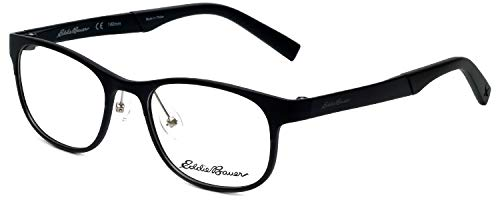 Eddie Bauer Designer Eyeglass Frame EB32001-BK in Black 51mm
