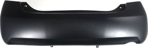 Crash Parts Plus Primed Rear Bumper Cover Replacement for 2007-2011 Toyota Camry