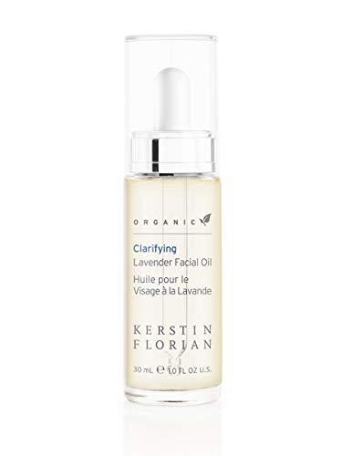 Kerstin Florian Organic Clarifying Lavender Facial Oil, Moisturize Skin with Vitamin E and Jojoba Oils 30ml/1 fl oz ()