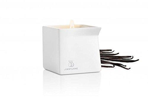 New - Afterglow Natural Massage Candle Dark Vanilla Jimmyjane