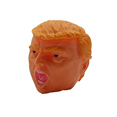 New 1 Donald Trump Stress Squeeze Ball Squishy Toy Cool Novelty Great Stocking Stuffer Gag Gift Fun: Toys & Games