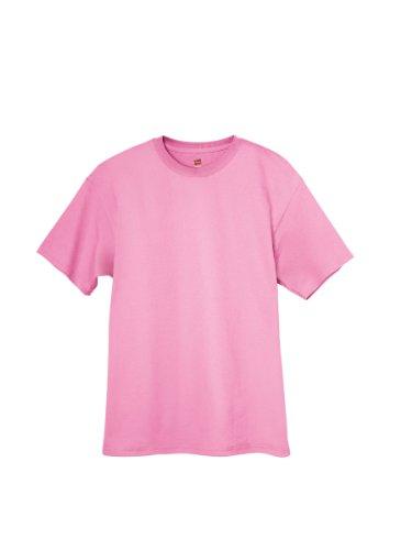 A 5170 T Manica shirt 50 Corta nbsp;rif Hanes 50 Rosa UEqAq