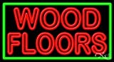 Wood Floors Business Neon Sign - 20 x 37 x 3 inches - Made in USA