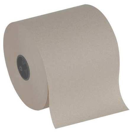 Brown Paper Towel Roll 7''W x 80039;L, 3 Rolls