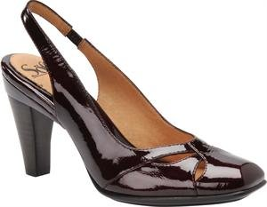 Sofft Red Shoes (SOFFT SASCHA DARK RED PATE SIZE 6.5 M)