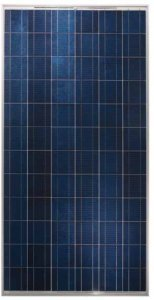 Yingli Solar 290W Poly Slv Wht Solar Panel Yl 290 P 35B  Pack Of 4