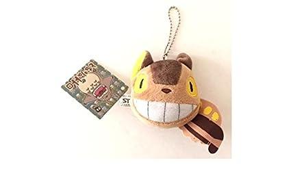 Amazon.com: Totoro Catbus de peluche llavero 3