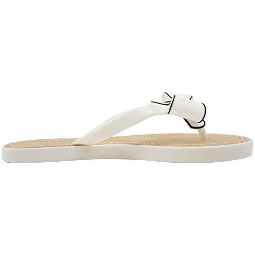 Dames / Heren Zomer / Vakantie / Strand Millie Bow Sandaal / Schoenen / Flip-flops Wit