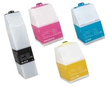 Clearprint 885372, 885373, 885374, 885375 Compatible Color Toner Set for Ricoh Aficio 3800, 3850C, CL7000, CL7000LMF printers