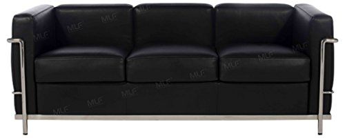 MLF Le Corbusier Style Sofa, Couches and Sofas, Cool Black