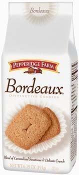 Pepperidge Farm, Bordeaux Cookies, 6.75oz Bag (Pack of 4)