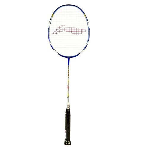 LI-NING Badminton Racket G-Tek Series Player Edition Light Weight Carbon Graphite Shaft 80+ GMS with Full Carrying Bag Cover (90 II)