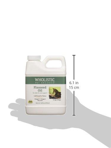 Wholistic Pet Organics Flax Seed Oil Supplement, 16 fl. oz by Wholistic Pet Organics (Image #3)