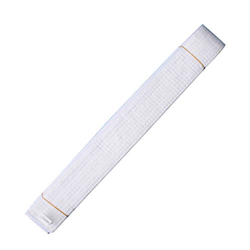 HongH Adult Taekwondo Belts Cotton Martial Arts Uniform Judo Karate TKD Jujitsu BJJ Aikido Kempo Rank Belt Accessories ()