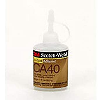 3M(TM) Scotch-Weld(TM) Instant Adhesive CA40 Yellow, 1 fl oz