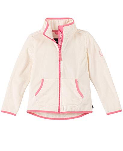 Nautica Toddler Girls' Zip Fleece, Cream Luxe, 3T