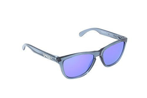 9eaa4dcb0d7 Oakley Frogskins Men s Limited Collector Editions Lifestyle Sunglasses  Eyewear - Crystal Black Violet Iridium