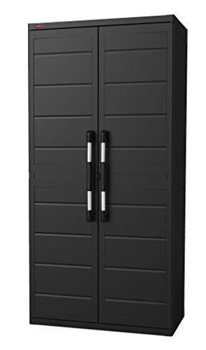 Keter XL Plus Freestanding Plastic Utility Cabinet, 34.6