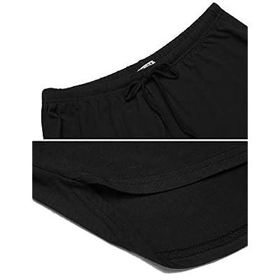 Ekouaer Women's Pajama Short Sleeve Sleepwear Soft Pj Set Top and Shorts Pajamas Set at Women's Clothing store