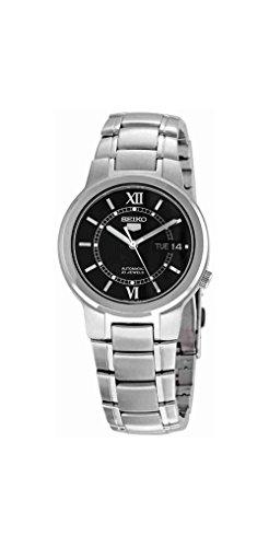 Seiko Men's SNKA23K1S Stainless-Steel Analog with Black Dial Watch