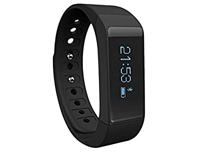 Fitness Tracker,Pashion Smart Wristband Activity Tracker Wireless Sports and Sleep Monitor Pedometer Bracelet Watch bands for Men Women Boys Girls Ladies Man Android IOS IPhone