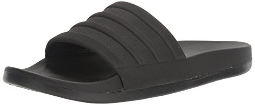 Adidas Black Slides (adidas Performance Men's Adilette CF+ Mono Slide Sandals, Black/Black/Black, (13 M US))