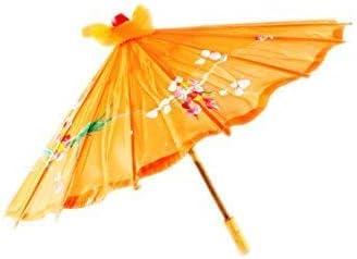 80cm diameter Chinese//Japanese Floral Parasol Geisha Umbrella