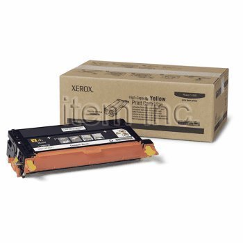 Xerox 113R00725 Toner Cartridge High-Yield (Yellow,1-Pack) by Xerox