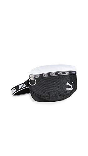 PUMA Women's Pumagram Hip Bag, Black/White, One Size (Handbag Puma White)