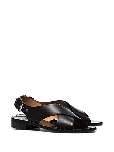 Dx00069fgf0aab Church's Pelle Hweznxevqd Sandali Nero Donna 9ID2WEH