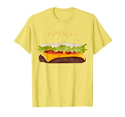 Hamburger Halloween Costume T-Shirt]()