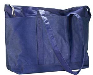 New World Imports PDBB Canvas Diaper Bag, Navy (Pack of 24) by New World Imports