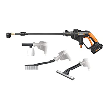 Worx WG629.1 20V MaxLithium Hydroshot Portable Power Cleaner Value Bundle