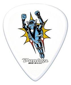 Dunlop Mens Bag - Dunlop BL06R1.0 Alan Forbes Picks, Rocket Man, 1.0mm, 36/Bag