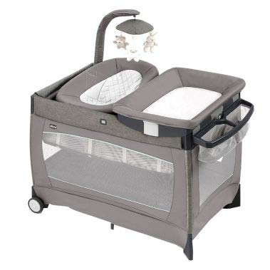 Chicco Lullaby Playard Portable Baby Playpen Bassinet, Changer, & Crib Play Yard