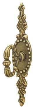 Key - Brass Key with Backplate ()