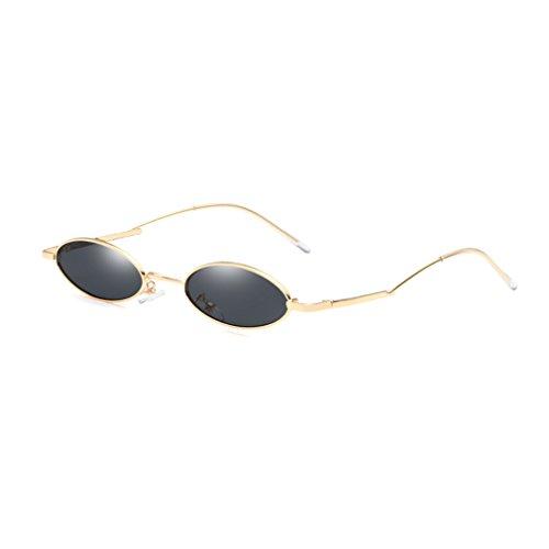 Metal Ultra Marco 400 Retro Ligeras Gafas Moda Redondo Pequeño Protección De Unisex Gafas Trend UV De Sol C3 De wqzEXanSx