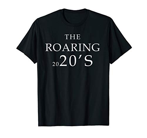Roaring 20's Costume for New Years Eve 2020 Party Motive T-Shirt