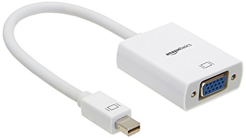 AmazonBasics Mini DisplayPort Thunderbolt Adapter