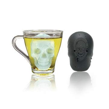 Skull Shape Ice Mold Halloween Silicone Chocolate -