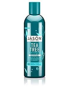 Jason Natural Cosmetics Tea Tree Oil Shampoo, 17.5 oz