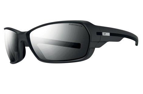 Julbo Dirt 2.0 Performance Sunglasses, Matte Black/Black, Polarized 3+ Lens, - Polarized Julbo Sunglasses