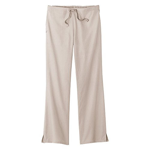 F3 Fundamentals By White Swan Women's Professional Scrub Pant Large - Sand Swan