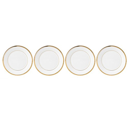 Lenox Eternal White 4 Piece Tidbits Plate Set
