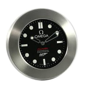 omega seamaster james bond wall clock osjbwc