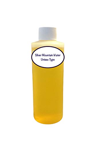 Silver Mountain Water Type, Our Interpretation, Highest Quality Uncut Perfume Oil (4 Oz)