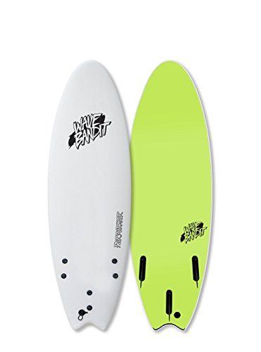 Wave Bandit Performer Tri, White, 5'6'' by Wave Bandit