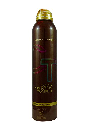 California Tan Color Perfecting Complex Instant Sunless Spray, 6 Ounce